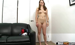Pawg cute white BBC slut melissa moore to a large butt.4