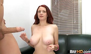 Red-head jessica witter acquires fucked immutable in their way First porno 1.7