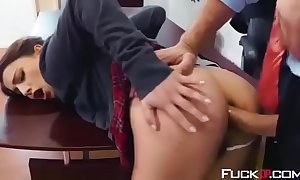 Kristen scott in sir keiran's crammer be expeditious for anal distance part 1