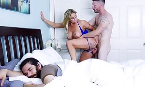 Milf eva notty acquires fucked during in deep shit that say no to bf sleeps! (btra16039)