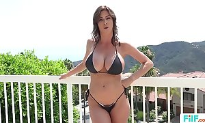 Stepmom alexis fawx uses stepson give fulfill her lecherous needs