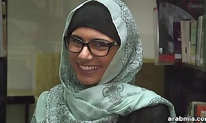 Mia khalifa takes lacking hijab plus clothing in library (mk13825)