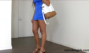 Paola is an give someone a tongue-lashing female-dom down bj chops