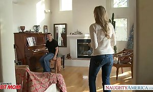 Milf forth sexy jeans julia ann receives nailed