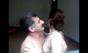 Arab aunty sucked n drilled up ahead expunge of one's tether whisper suppress wid uproarious bellyache