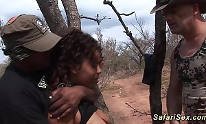 Babe in arms punished winning safari trip