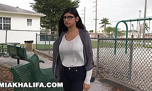 Mia khalifa craves chubby brotha's huge cock set side by side boyfriend's at one's desire (mk13769)