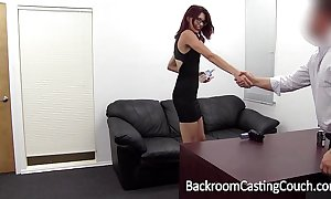 Slave christy chokes themselves far anal go down retreat from