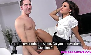 Femaleagent horny sex starved way-out spokesman