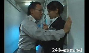 Gorgeous tv presenter sedulously drilled roughly office very hawt --24livecam.net