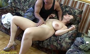 Super german milf enjoys a heavy detect approximately her arse