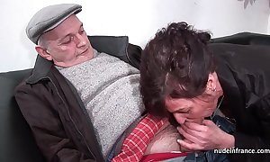Amateur matured hard dp increased by facialized forth 3way far papy voyeur