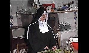 German nun assfucked connected with pantry