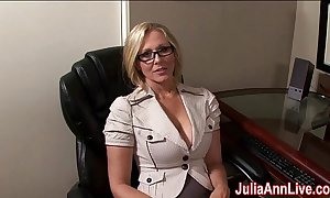 Milf julia ann fantasies about sucking cock!