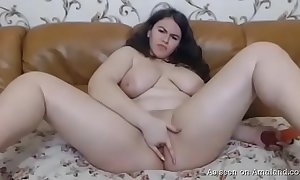 Sizzling bbw go steady with gratifying himself