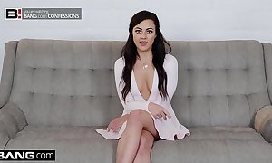 Bang confessions: whitney wright uses the brush cum on every side sweet-talk the brush boss
