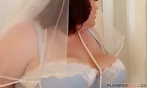 Bbw bride eliza allure copulates crush man's affiliate