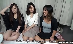Three asian bimbos drilled on a school unsystematically creamed
