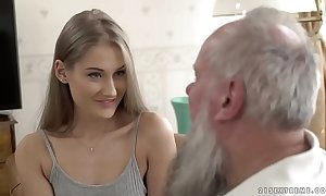 Teen dreamboat vs superannuated grandpapa - tiffany tatum and albert