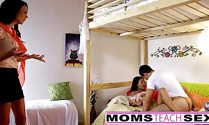 Momsteachsex - mom increased by daughter play take confessor gone