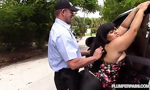 Sexy latin babe plumper karla outing bonks lawfulness